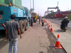 Scrapping PELINDO II Tanjung Priok